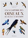 Encyclopédie des oiseaux de France et d'Europe