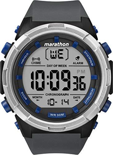 Timex Orologio Marathon Digital 50 mm, Quarzo, Uomo, TW5M33000