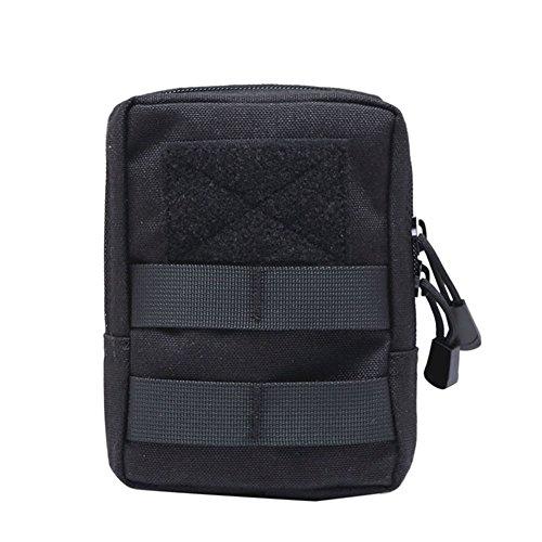 Shiningup wasserdichte Outdoor Taille Tasche 1000D Multifunktions EDC Molle Werkzeug Reißverschluss Taille Pack Zubehör Durable Gürteltasche
