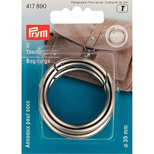 Prym Taschenringe, Silber, Stück