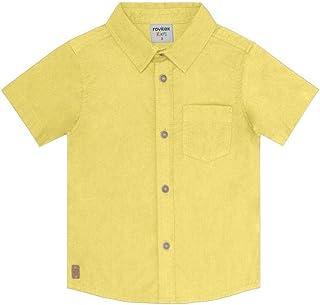 Camisa Popeline Masculina Rovitex Kids