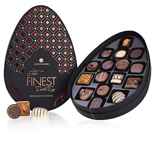 The Finest Easter Pralines Red - 19 Schokopralinen | in eleganter Verpackung | Ostergeschenk | Ostern Schokolade | Eier Schokolade | Osterei | aus erlesenen Zutaten