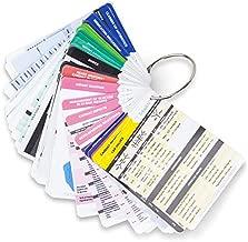 PocketGuru Set by Tribe RN - 85 Scrub Pocket Sized Nurse Reference Cards - (Bonus Nursing Cheat Sheets) Perfect Nurse or Nursing Student Gifts - Studying and Clinical Rounds