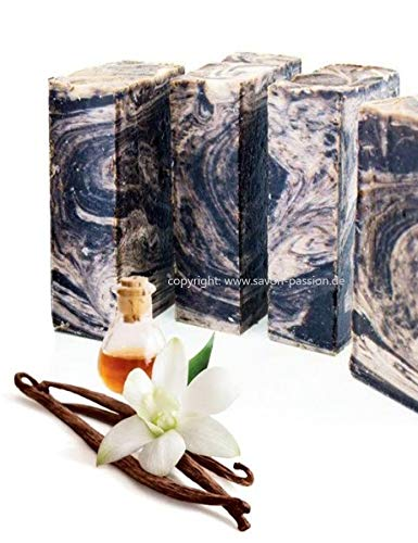 ANI® SAVON ~ BOURBONE VANILLE (Vanille mit entspannenden Patchouli & Lavendel) I100 g I handgefertigt Naturseife I aus Seifen Manufaktur Frankreich ~ Geschenkidee