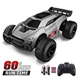 SABON RC Cars for Boys Age 8-12, 2.4GHz Remote Control Car 1/22 Scale Buggy 2WD High Speed RC Racing Car, 2 Rechargeable Batteries and 3 AAA Batteries, Toys for Boys, Xmas Gifts