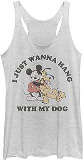 Disney womens Mickey Dog Fill Lover T-Shirt