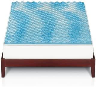 The Big One 1 1/2-in. Gel Memory Foam Mattress Topper (Queen Bed)