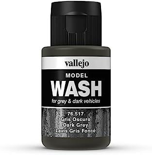 Vallejo Model Color 35 ml Wash Paints - Dark Grey
