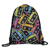 Etryrt Mochilas/Bolsas de Gimnasia,Bolsas de Cuerdas, Tropical Lightweight Drawstring Bag Sport Gym Backpack Gym Bag For Men and Women
