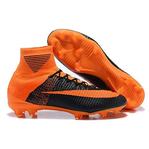 Botas de fútbol Zapatos de fútbol Unisex Zapatos de fútbol de vanguardia para niños Zapatos de fútbol Profesionales de Alta tecnología Tamaño Europeo estándar