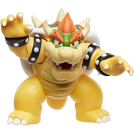 Super Mario Bros Bowser PVC Acción Figura Modelo 10 cm Colección RARA