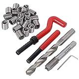 M12 Thread Repair Kit Damaged Threads Repair Tools Thread Tap Drill Bit Set for Auto Repairing with Storage Box