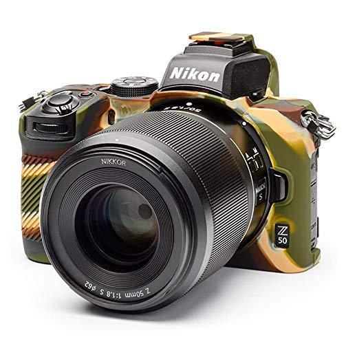 イージーカバー ニコン Z50 用 液晶保護フィルム付属 カモラージュ