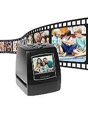 Aibecy Film Scanner, Protable Negative 35mm 135mm Slide Film Converter Photo Digital Image Viewer met 6,1 cm LCD Build-in Editing Software