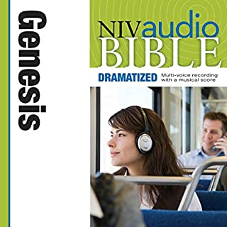 Dramatized Audio Bible - New International Version, NIV: (01) Genesis audiobook cover art