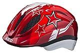 KED Meggy Helm Kinder red Stars Kopfumfang S/M   49-55cm 2020 Fahrradhelm