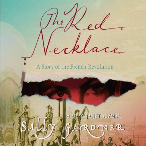 The Red Necklace audiobook cover art