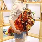FUYUHAN Muñecas de Felpa, muñecas, muñecas - simulación Barbacoa Almohadas Cojines Comer Comida de mariscos Regalo de Peluche Creativo Patas de Pollo Calamar a la Parrilla Abrazo de Pescado @ G_60cm