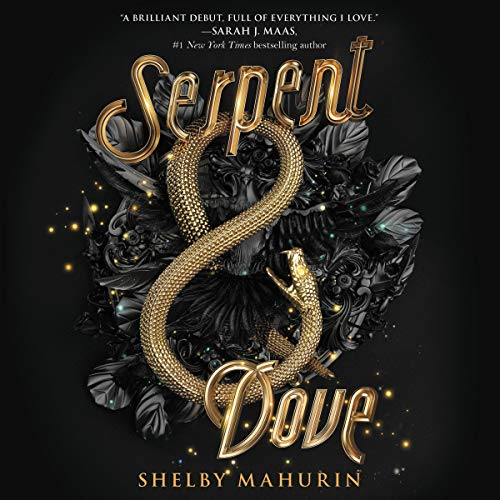 Serpent & Dove audiobook cover art