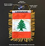 PRK 14 Lebanese Flags for Car ...