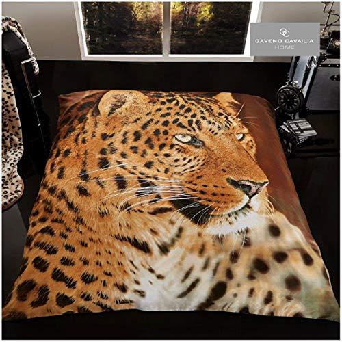Gaveno Cavailia Superweiche Kunstfell-Fleece-Decke, Tagesdecke, 3D Tierdruck, Bär, Polyester, Multi, 200x240 cm