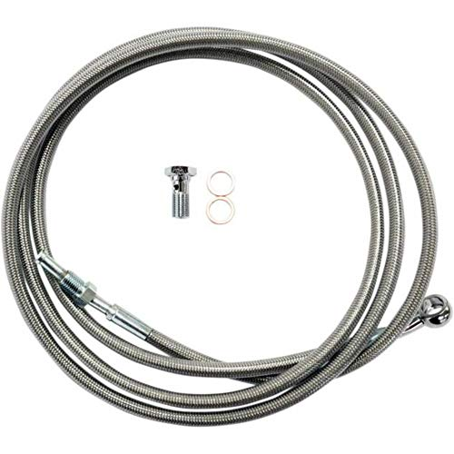 LA Choppers Stainless Steel Clutch Line Kit - For 15-17in. Ape Hanger LA-8052C16