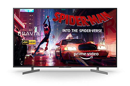 Sony BRAVIA KD43XG81 43 Inch LED 4K HDR Ultra HD Smart Android TV, Voice Remote, Black [Energy Class A] with Ultra HD Blu-Ray Disc Player