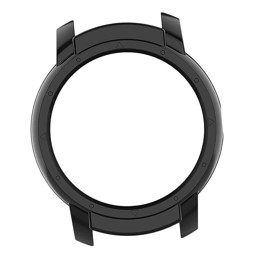 サスペンドスポンジ文化スマートウォッチカバー Ticwatch E2用 スマートウォッチアクセサリー 全6色 - 黒