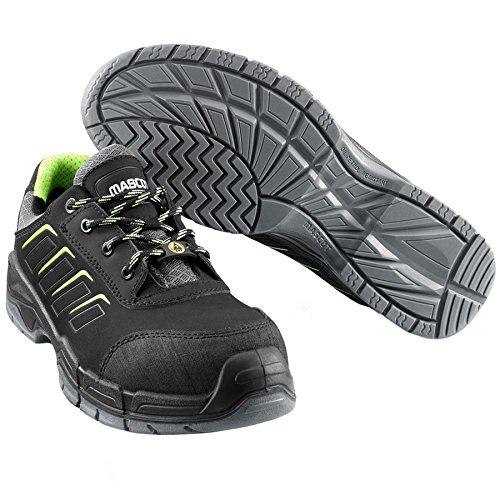 Mascot F0110-937-09-1143 Mont Blance - Zapatillas de Seguridad (11 cm), Color Negro