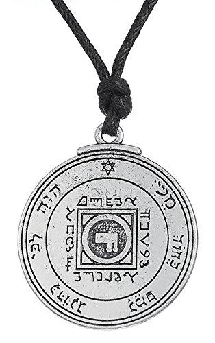 """""""Ancient Key of Solomon""""-Anhänger mit Halskette, der ultimative Liebes-Talisman, Schmuck für Damen und Herren"""