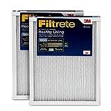 Filtrete MPR 1900 14x20x1 AC Furnace Air Filter, Healthy Living Ultimate Allergen, 2-Pack