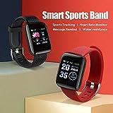 Zoom IMG-2 116plus braccialetto sportivo sport fitness