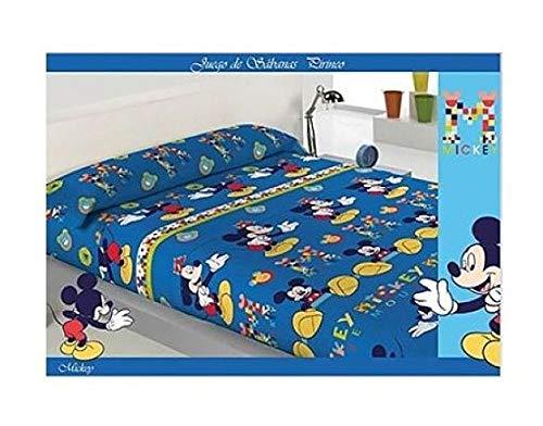 Jerry Sabana Infantil DE Invierno PIRINEO Mickey Mouse Cama de 105
