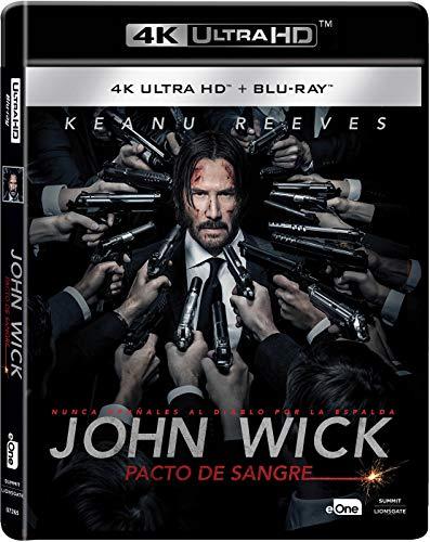 John Wick: Pacto De Sangre Blu-Ray + Uhd 4k [Blu-ray]