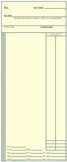 TCS (1000 ct) Time Cards, Consecutive 3.375 x 8.25 Form C3000