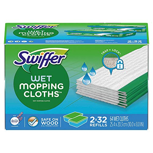 Swiffer Sweeper Wet Refills, (64 ct.) - Lavender & Vanilla Comfort
