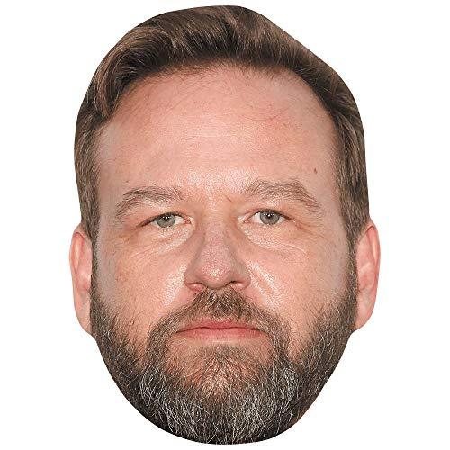 Celebrity Cutouts Dallas Roberts (Beard) Big Head. Larger than life mask.