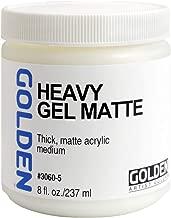 Golden Acryl Med 8 Oz Heavy Gel Matte