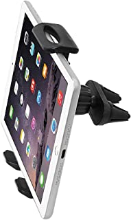 Dual Heads Air Vent Car Phone & Tablet Mount 2-in-1 Clip Holder for iPhone X 8 7 6 6s Plus SE Samsung Galaxy S9 S8 Plus Edge S7 S6 Note 8 5 Nexus ASUS LG Xiaomi ipad Mini 2 3 4