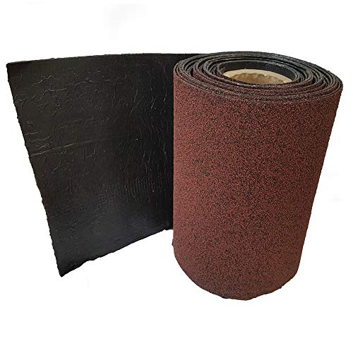 Felt Shingles Antique Red Shed Roof Roll Out Ridge Roll 10m with Nails and Adhesive