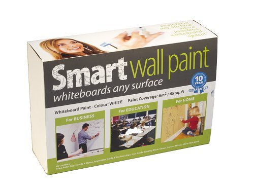 Pintura Pizarra Smart Blanca 2m² - pizarra blanca