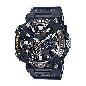 """[カシオ] 腕時計 ジーショック ダイバーズウォッチ FROGMAN Bluetooth搭載 電波ソーラー カーボンコアガード構造 GWF-A1000-1AJF メンズ ブラック"""""""