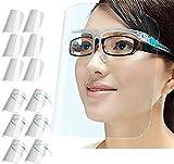 PETHREE Pantalla Protección Facial Transparente para Adultos y Niños,...