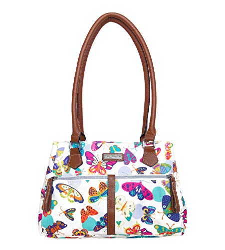 Lily Bloom Francis Satchel Bag, (Butterfly Twister)