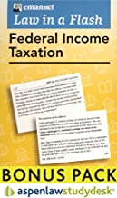 Law In a Flash Federal Income Tax: Aspenlaw Studydesk Bonus Pack