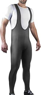 Men's Tall Stretch Fleece Cyclilng Bib Tights Bibtight