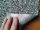 Steinfolie 1 x 5 m Granit Grau, für Teichfolie Bachlauf mit Natursteine