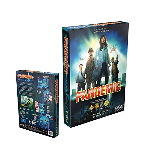2020 Most Popular Board Game Role Playing Teamwork Game Party Leisure Strategy Card Game——Pandemic.