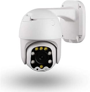 Camara IP WiFi 1080P Voz bidireccional Impermeable al Aire Libre de 25 Pulgadas con Enfoque Fijo WiFi de Doble Fuente de luz, Camara de Seguridad Interior para Bebe/Ancianos