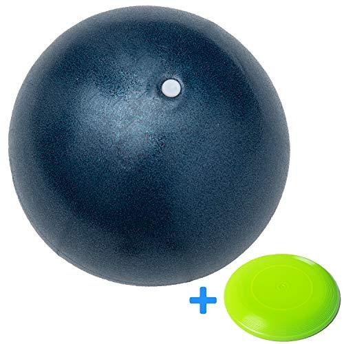 Minis Kreativ Besonders Strapazierfähiger Soft Ball für die ganze Famile - Schadstofffreier Kinder Ball für Innen & Außen - Ø 23cm inkl. Gratis Frisbee